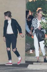 KRISTEN STEWART and STELLA MAXWELL at Nobu in Malibu 05/25/2018