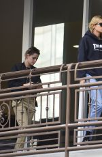 KRISTEN STEWART and STELLA MAXWELL Out for Sushi in Hollywood 05/24/2018
