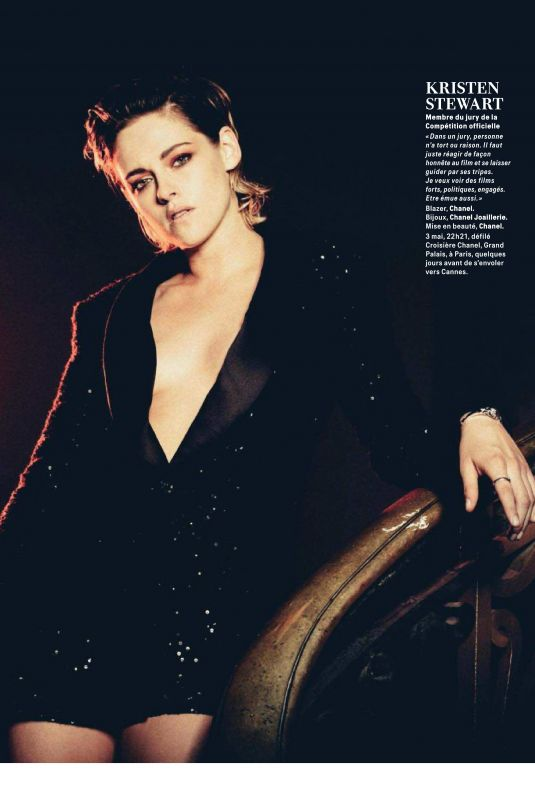 KRISTEN STEWART in Grazia Magazine, May 2018