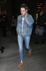 KRISTEN STEWART in Jeans Out and About in Hollywood 05/23/2018