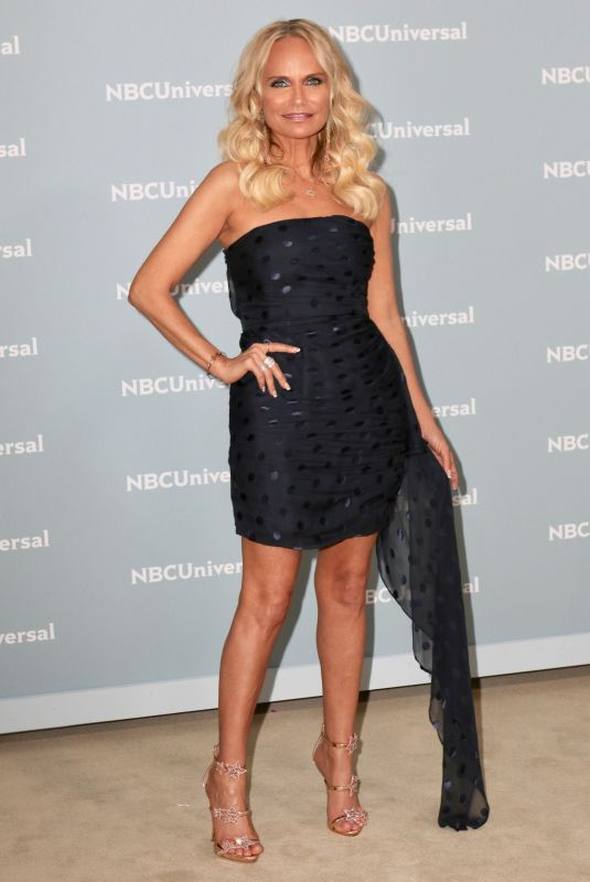 KRISTIN CHENOWETH at NBCUniversal Upfront Presentation in New York 05/14/2018