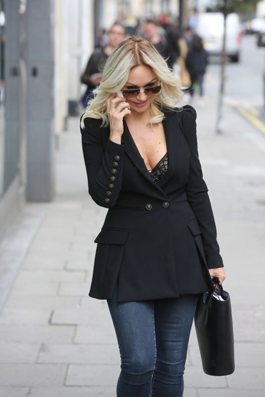 KRISTINA RIHANOFF Out and About in London 05/23/2018
