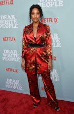 KYLIE BUNBURY at Dear White People Premiere in Los Angeles 05/02/2018