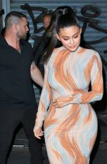 KYLIE JENNER Out for Dinner in New York 08/05/2018