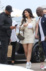 KYLIE JENNER Out for Lunch in Malibu 05/19/2018