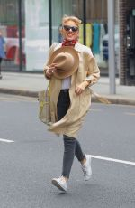 KYLIE MINOGUE Out Shopping in London 05/26/2018