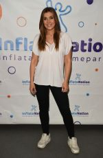 KYM MARSH at Inflata Nation Opening in Runcorn 05/04/2018
