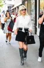 LADY GAGA Leaves a Studio in New York 05/26/2018