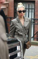 LADY GAGA Leaves Her Hotel in New York 05/28/2018