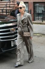 LADY GAGA Leaves Her Hotel in New York 05/28/2018