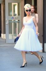 LADY GAGA Out and About in New York 05/24/2018