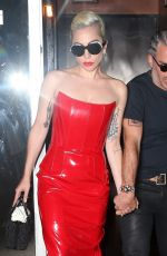 LADY GAGA Out in New York 05/29/2018