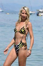 LADY VICTORIA HERVEY in Bikini at Keller Beach in Antibes 05/21/2018