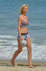 LADY VICTORIA HERVEY Workout at a Beach in Malibu 05/06/2018