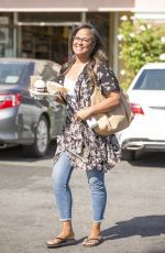 LAILA ALI Out for a Coffee in Calabasas 05/21/2018