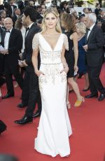 LALA RUDGE at Ash is Purest White Premiere at Cannes Film Festival 05/11/2018