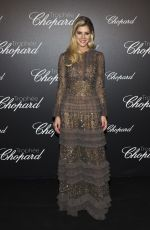 LALA RUDGE at Chopard Trophy Photocall at 2018 Cannes Film Festival 05/14/2018