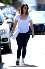LANA DEL REY Out on Melrose Place in West Hollywood 05/17/2018