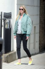 LARA STONE Out in London 05/13/2018