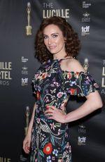 LAURA BENANTI at 2018 Lucille Lortel Awards in New York 05/06/2018