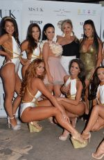 LAURA CARTER, HELEN BRIGGS, CHATELLE CONNELLY SALLY JANE BEECH and GEORGIA CLARKE at Miss Swimsuit UK Auditions in Leeds 05/20/2018