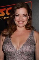 LAURA MICHELLE KELLY at Solo: A Star Wars Story Premiere After-party in New York 05/21/2018