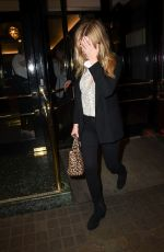 LAURA WHITMORE Arrives at Kinky Boots Gala Performance in London 05/29/2018