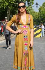 LAURA WRIGHT at Chelsea Flower Show in London 05/21/2018