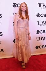 LAUREN AMBROSE at Tony Awards Nominees Photocall in New York 05/02/2018