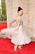 LAUREN LOVETT at New York City Ballet Spring Gala 05/03/2018