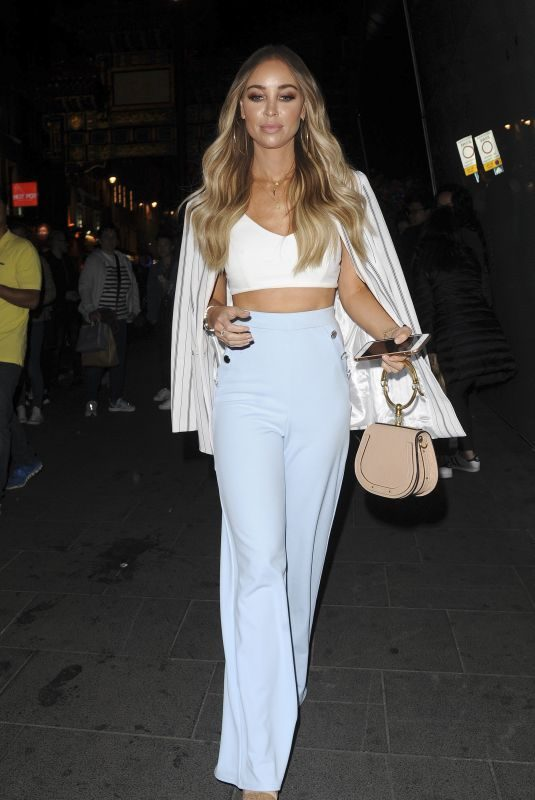 LAUREN POPE at Quiz x Towie Launch Party in London 05/10/2018