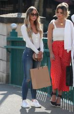 LAUREN POPE, CHLOE LEWIS and AMBER TURNER on the Set of TOWIE in Chelmsford 05/15/2018