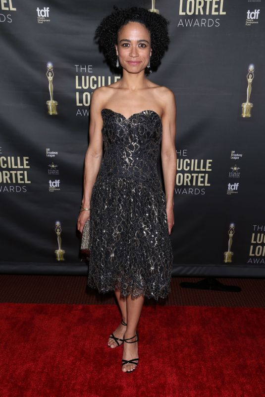 LAUREN RIDLOFF at 2018 Lucille Lortel Awards in New York 05/06/2018
