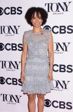 LAUREN RIDLOFF at Tony Awards Nominees Photocall in New York 05/02/2018