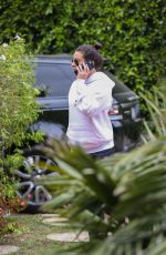 LEA MICHELE Arrives at a Friends House in Beverly Hills 05/11/2018