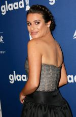 LEA MICHELE at 2018 Glaad Media Awards in New York 05/05/2018