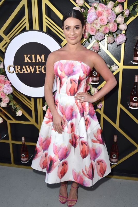 LEA  MICHELE at Kim Crawford Wines Sip into Summer Rose Party 05/15/2018