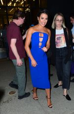 LEA MICHELE Show Her Engangement Ring at Watch What Happens Live in New York 05/02/2018