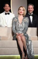 LEA SEYDOUX at 71st Annual Cannes Film Festival Closing Ceremony 05/19/2018
