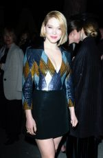 LEA SEYDOUX at Kering Dinner at 71st Cannes Film Festival 05/13/2018