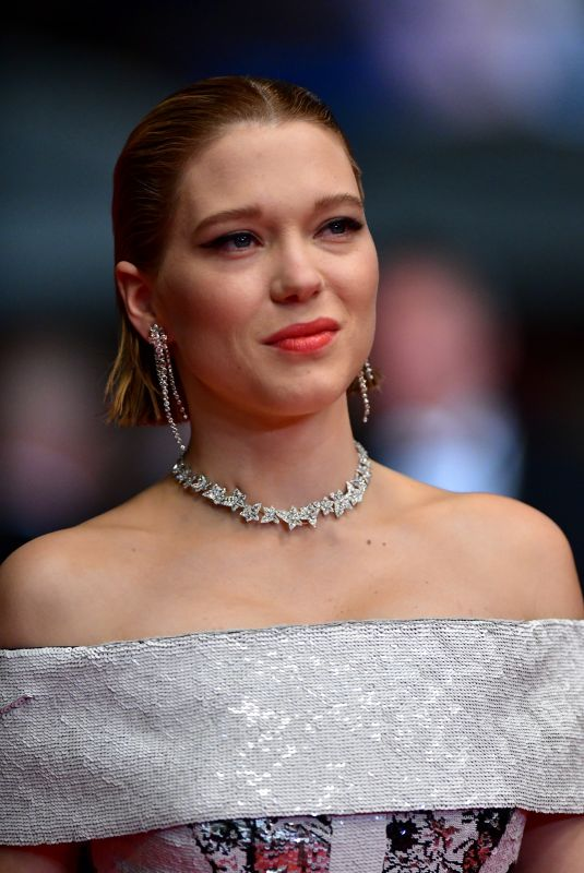LEA SEYDOUX at Under the Silver Lake Premiere at Cannes Film Festival 05/15/2018