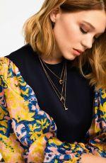 LEA SEYDOUX in Elle Magazine, France May 2018