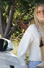 LEANN RIMES Out and About in Malibu 04/28/2018