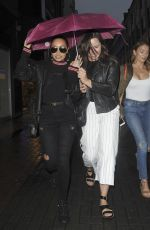 LEIGH-ANNE PINNOCK Night Out in London 05/12/2018