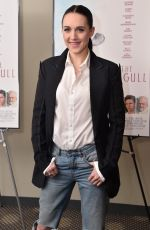 LENA HALL at The Seagull Premiere in New York 05/10/2018