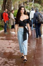 LENA MEYER-LANDRUT Out on Croisette in Cannes 05/14/2018