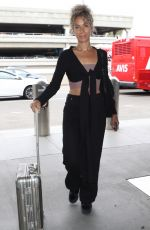 LEONA LEWIS at LAX Airport in Los Angeles 05/24/2018