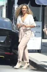 LEONA LEWIS Out for Lunch in Los Angeles 05/10/2018