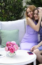 LESLIE MANN and MAUDE APATOW at Launch of Their New Jergens Campaign in Los Angeles 05/01/2018