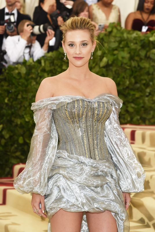 LILI REINHART at MET Gala 2018 in New York 05/07/2018